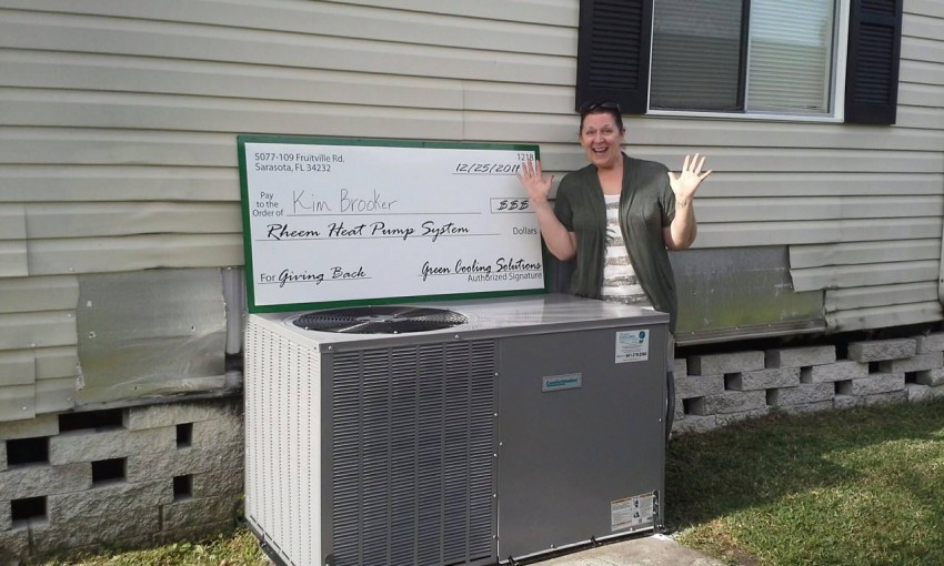 """Heat Pump for the Holidays"" Winner!"